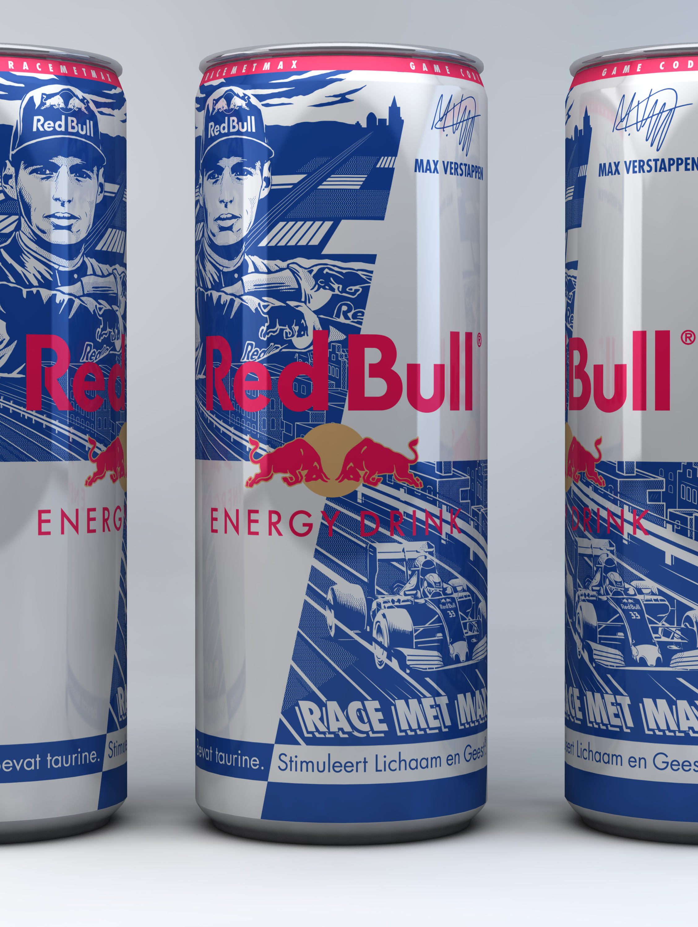 Red Bull – Max Verstappen Can